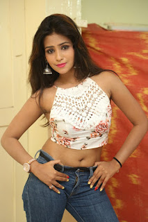 Deekshita Parvathi in a short crop top and Denim Jeans Spicy Pics Beautiful Actress Deekshita Parvathi January 2017 CelebxNext (78).JPG