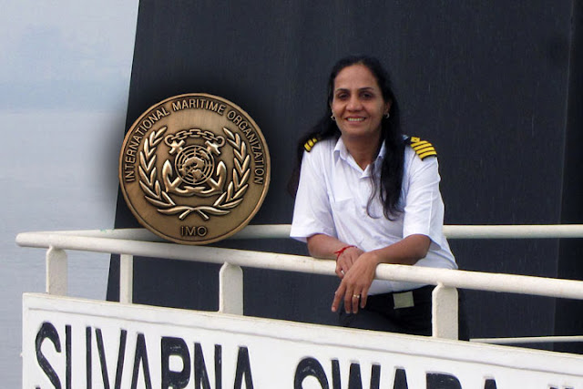 Captain Radhika Menon to received IMO Award for Exceptional Bravery at Sea