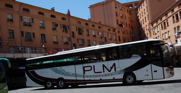 autobus puente la reina pamplona