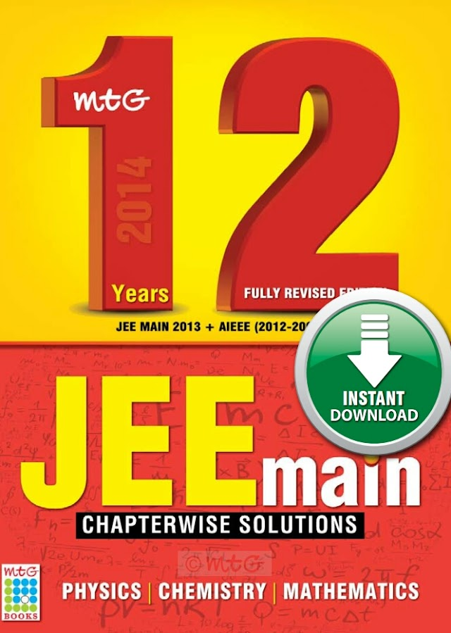 12 YEARS JEE MAINS CHAPTER WISE SOLUTIONS