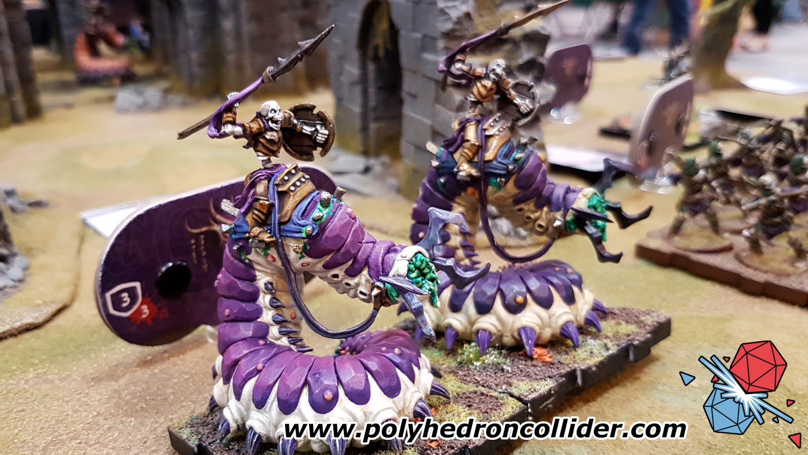 Runewars miniatures game review carrion riders