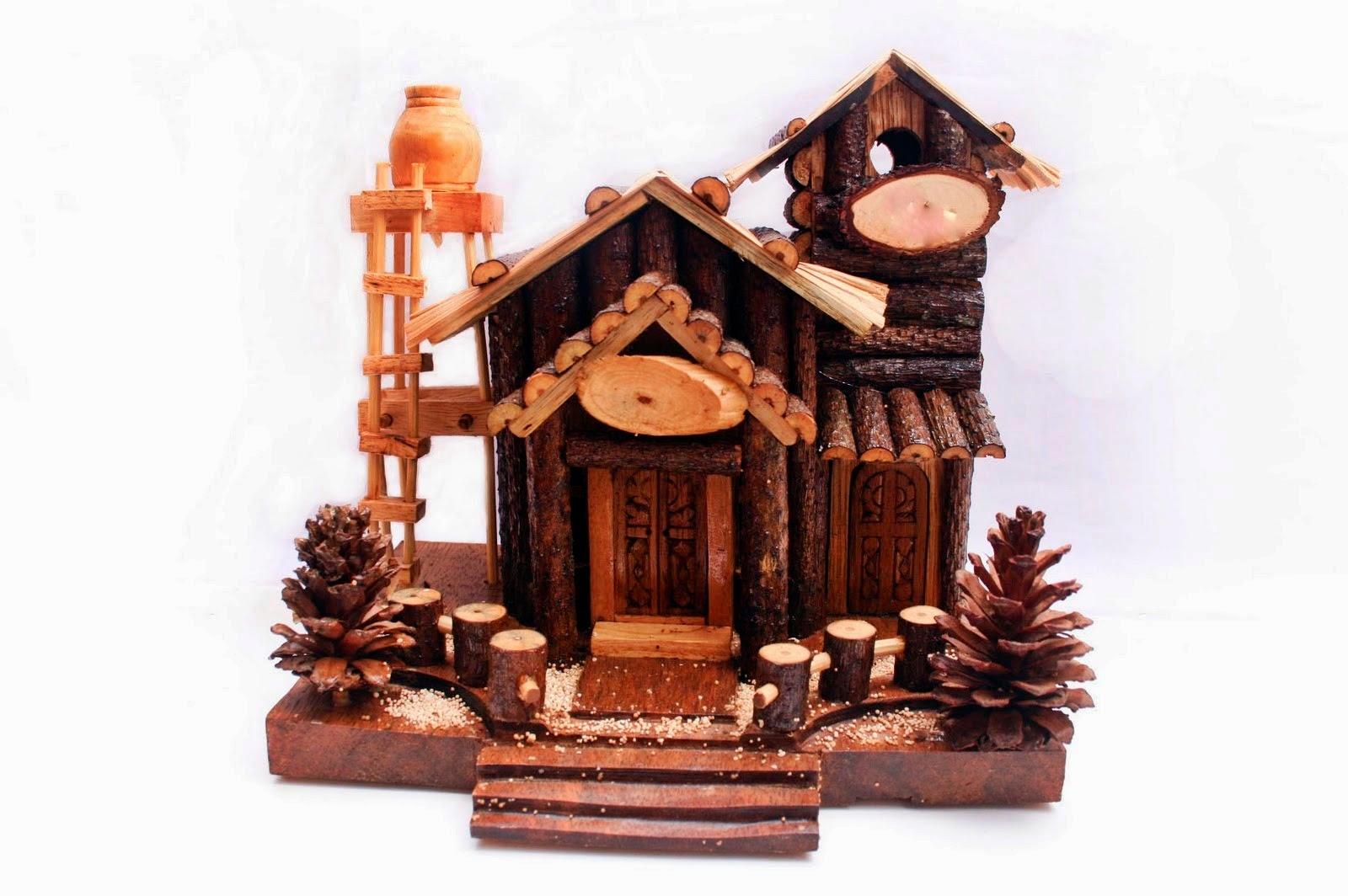 Miniatur Rumah Pohon Sederhana