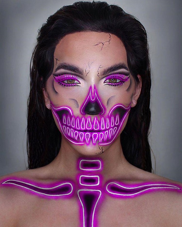 Scariest Makeup Ideas For Halloween