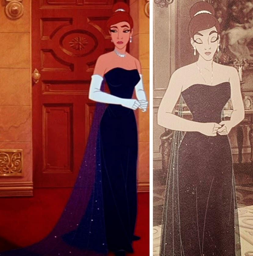 Anastasia Filme costume