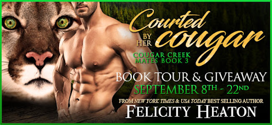 Courted by a Cougar by Felicity Heaton Blog Tour including review