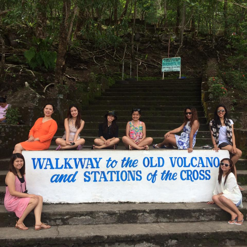 Walkway tot he Old Volcano and Stations of the Cross