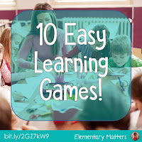 Ten Easy Learning Games -  Here are some easy ways to make learning fun, and all you need are some games you probably have on hand!