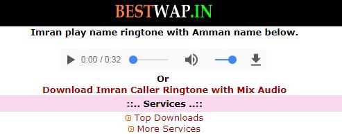 bestwap caller name ringtone