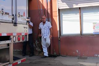 Men near truck in Puriscal.