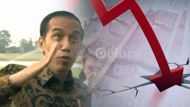 Kondisi Rupiah Tidak Sebagus Pencitraan Jokowi