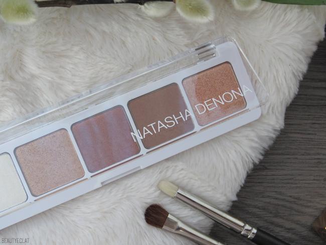 Natasha Denona Eyeshadow Palette 5 Palette 04 test