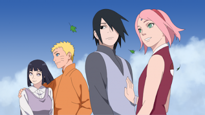 foto Naruto-Hinata dan Sasuke-Sakura