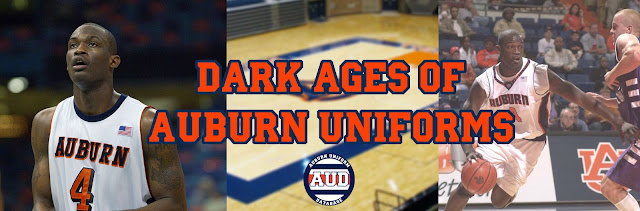 auburn basketball uniforms 2000 2001 2002 2003 2004