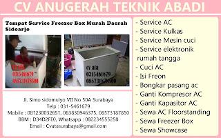 Tempat Service Freezer Box Murah Daerah Sidoarjo