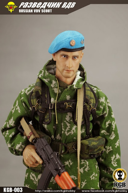 12 Russian Supermodels Who Gained International Success: Toyhaven: KGB HOBBY KGB-003 1/6 Scale Russian VDV Scout