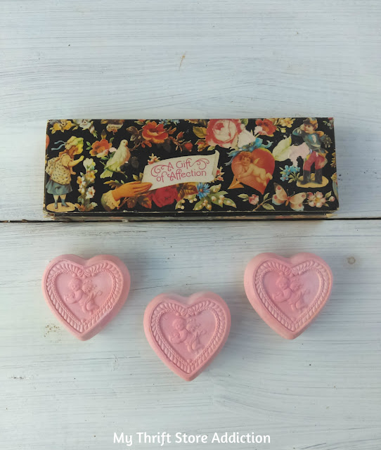 vintage Avon Sentimental Affection gift soap