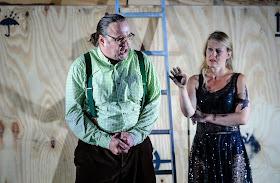 Vincent Wolfsteiner, Inga-Britt Andersson - Wagner: Der fliegende Höllander - Heidenheim Opera Festival (photo Oliver Vogel)