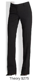 Sydney Fashion Hunter - She Wears The Pants - Theory Black Women's Work Pants