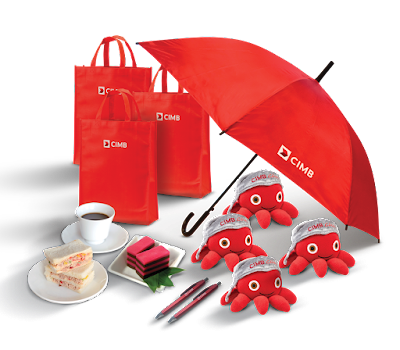 CIMB Wow Wednesday Free Umbrella Gift Promo