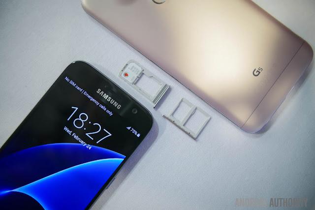مقارنة بين LG G5 vs S7