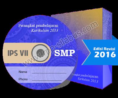 Jual RPP IPS Kelas VII SMP Kurikulum 2013 Edisi Revisi 2016