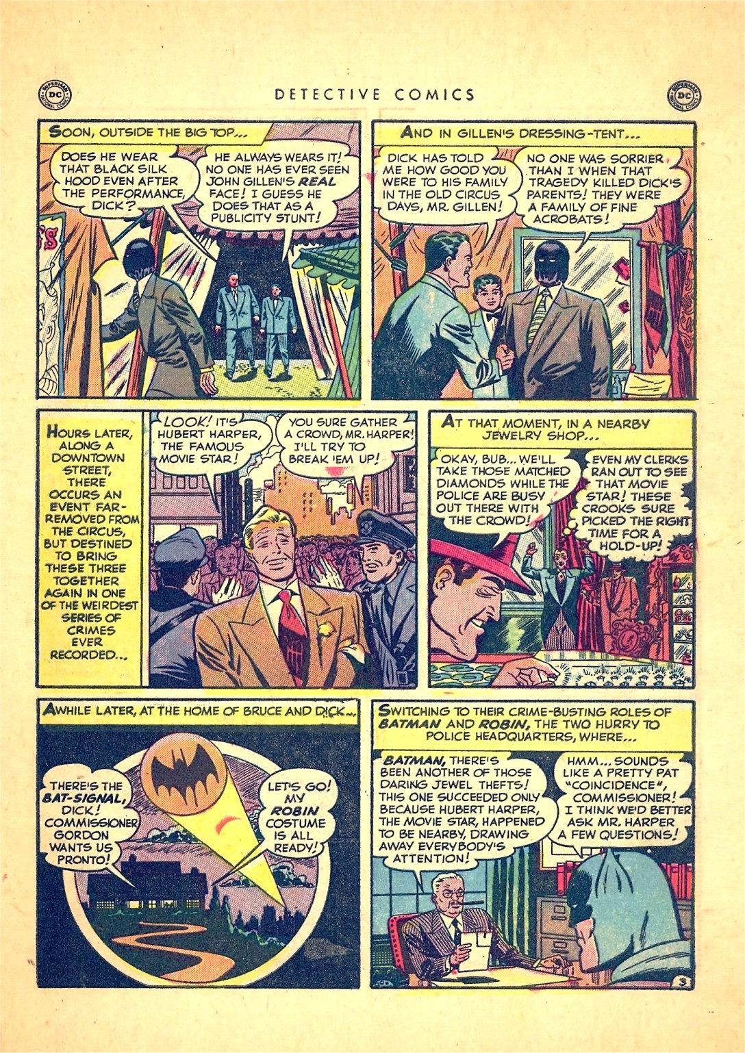 Read online Detective Comics (1937) comic -  Issue #166 - 5