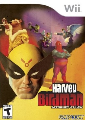 Harvey Birdman Attorney At Law %255BEnglish%255D %2528Poster%2529 - Harvey Birdman Attorney At Law Wii