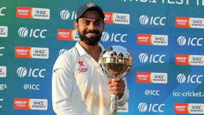 MRF Tyres ICC Test and ODI Team Rankings