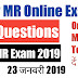 Navy MR Online Exam - 23 जनवरी 2019