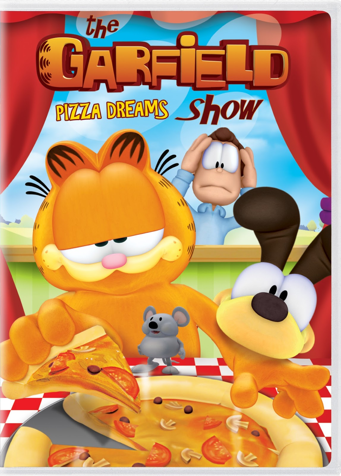 The Garfield Show Pizza Dreams Dvd Giveaway Mommy S Block Party