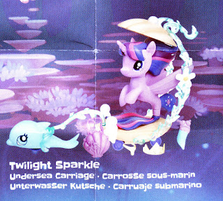 My Little Pony the Movie Twilight Sparkle Undersea Carriage Brushable