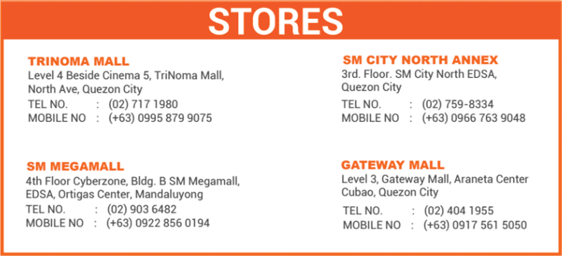Authorized Mi Stores in the Philippines