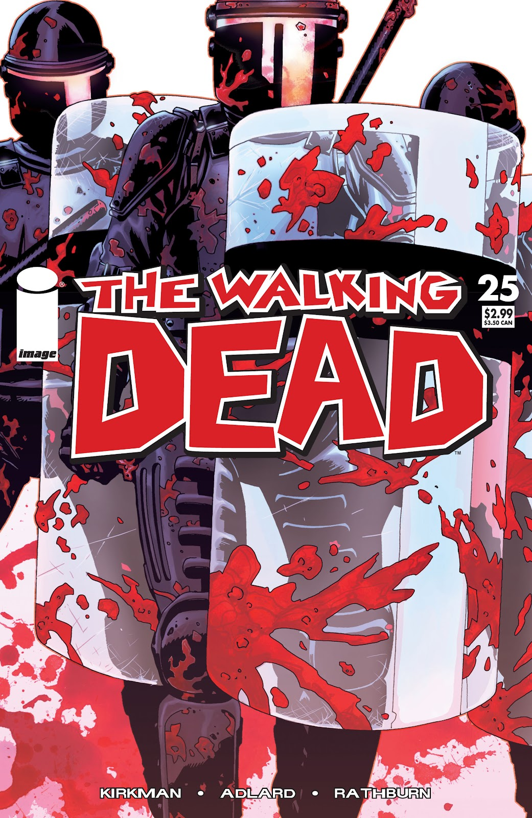 The Walking Dead issue 25 - Page 1