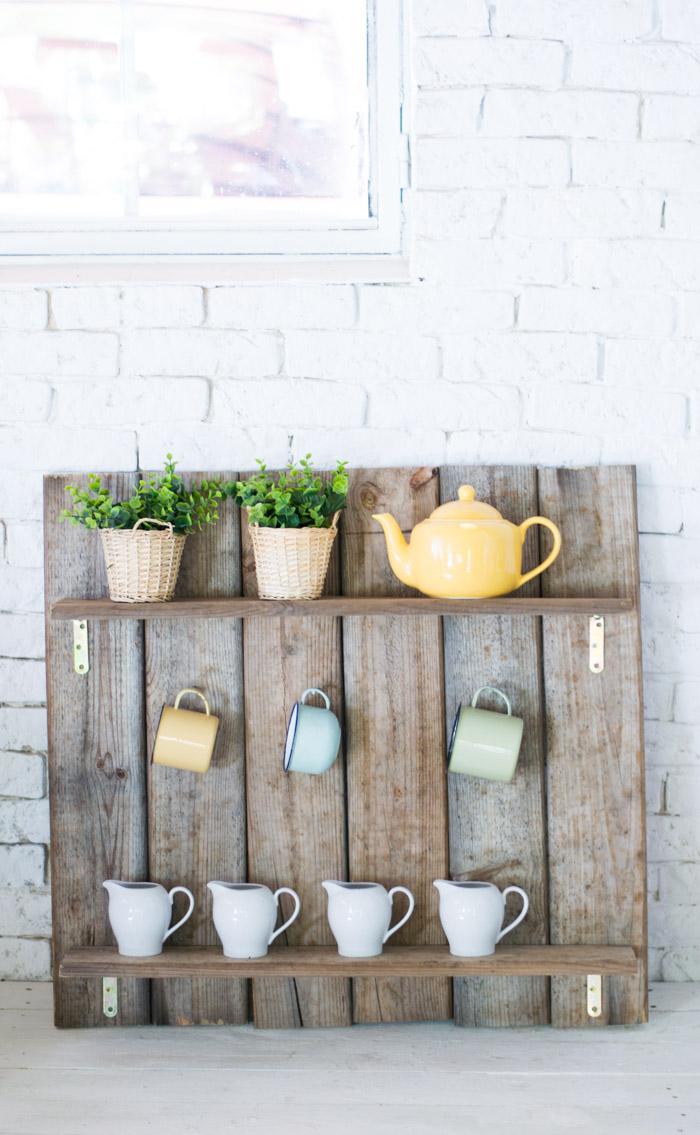 Mueble palets cocina diy – La chimenea de las hadas