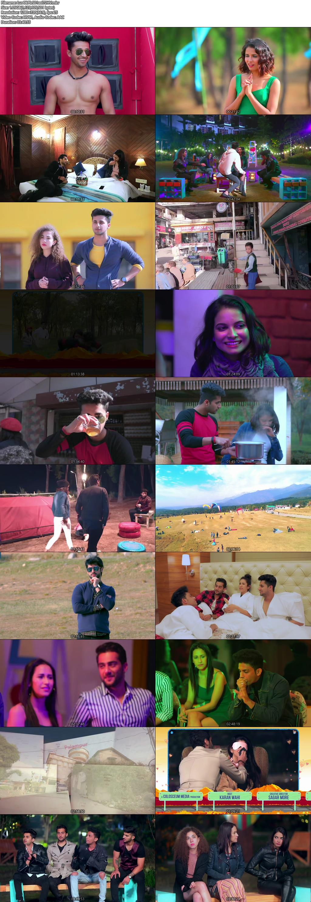 Screenshots Of Hindi Show Love Ok Please Season 01 2019 Complete - All Episodes 300MB 720P HD