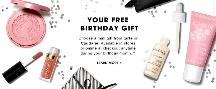 Health And Beauty Girl Sephora 2017 Birthday Gift