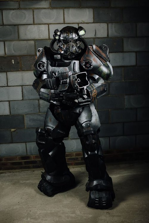 Братство Стали, Brotherhood of Steel, силовая броня, power armor, Fallout 3, Fallout 4, Fallout 2, Fallout, косплей, cosplay
