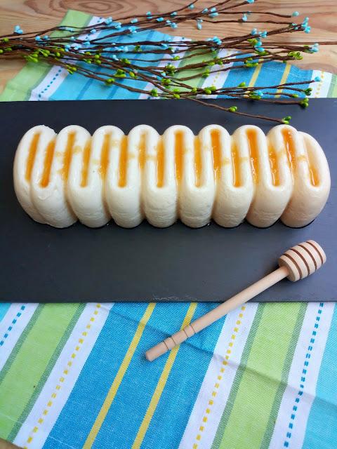 Flan de queso y miel sin horno Postre de verano sencillo y fresquito