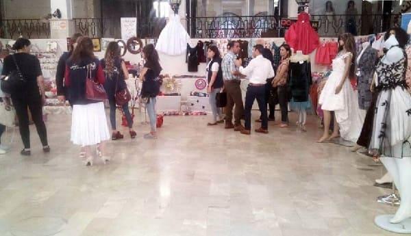 معرض للمنتجات النسائية من الألبسة والأشغال اليدوية بالسويداء