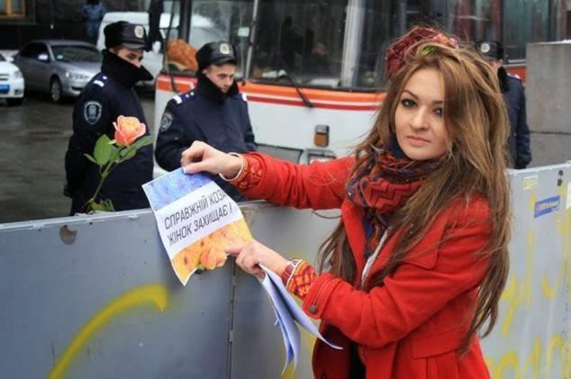 demonstrasi Ukraina