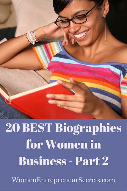 20 best biographies for women in business part 2