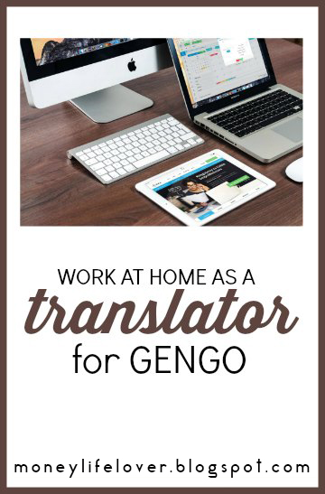 Working from home as a translator for gengo
