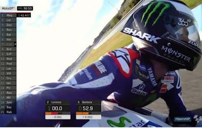 Lorenzo Tampil dengan Helm Bersayap di GP Jerez