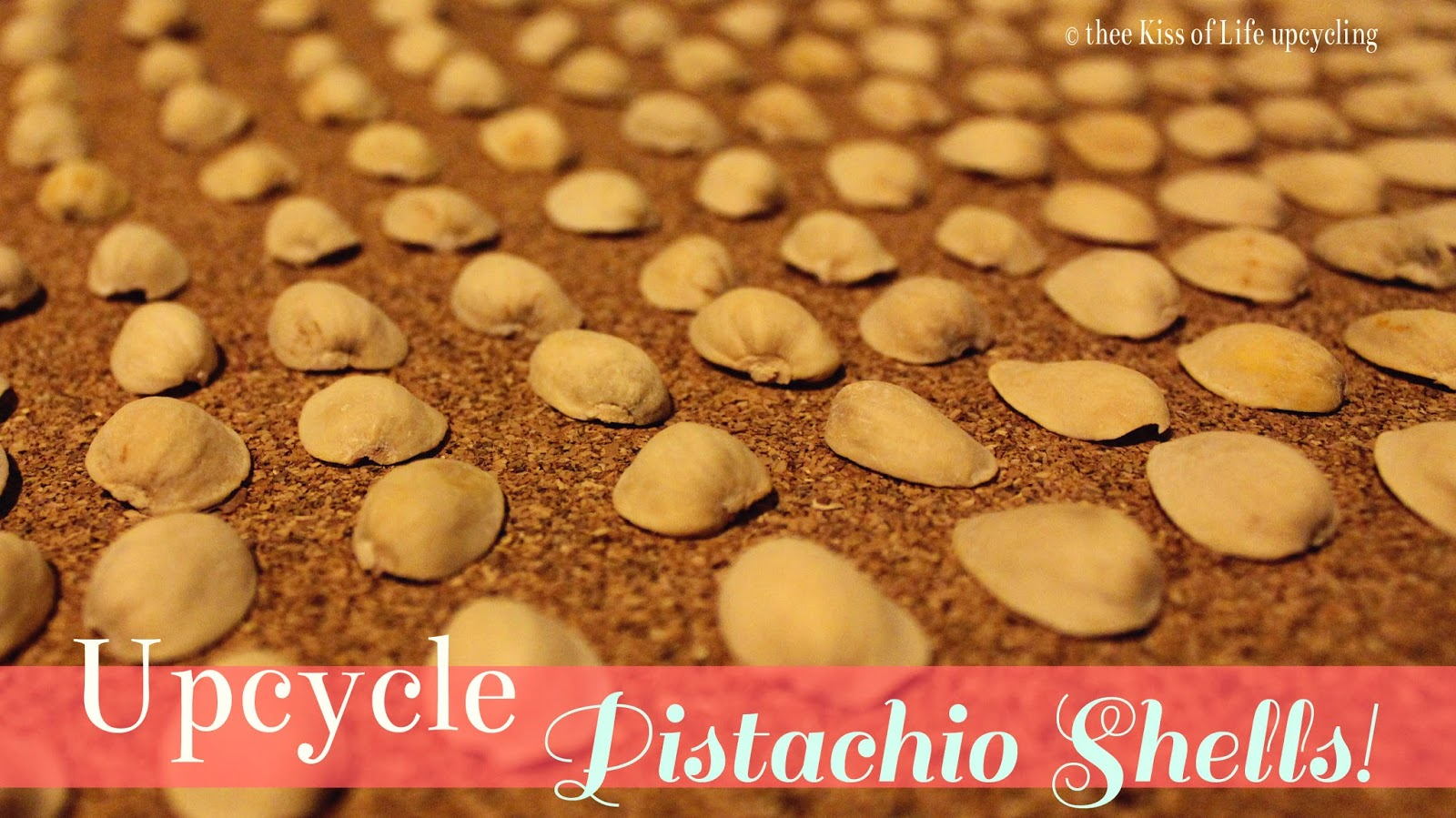 diy easy upcycling pistachio crafts thee kiss of life upcycling. Black Bedroom Furniture Sets. Home Design Ideas