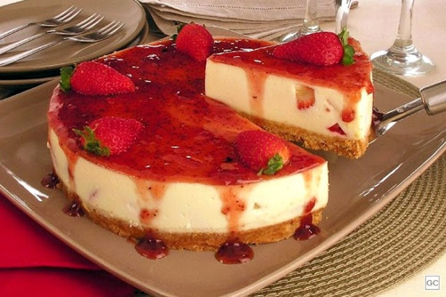 Cheesecake de Morango Low Carb é bom mesmo? resolvido