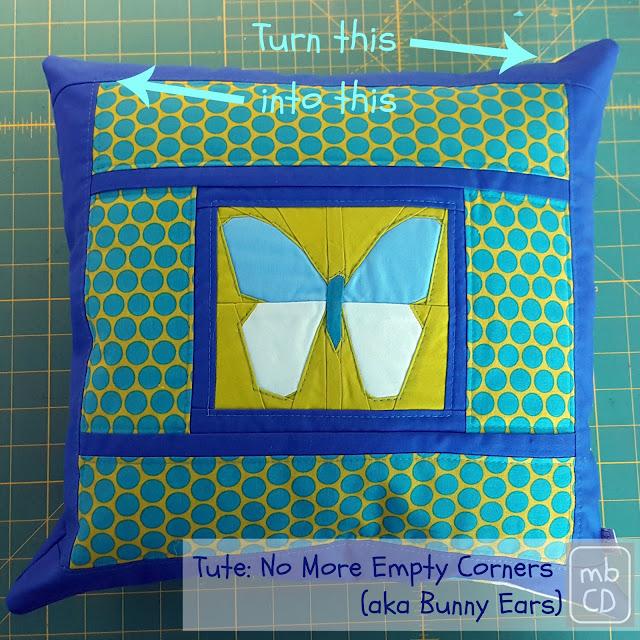 No More Empty Corners (aka Bunny Ears) Tute by www.madebyChrissieD.com
