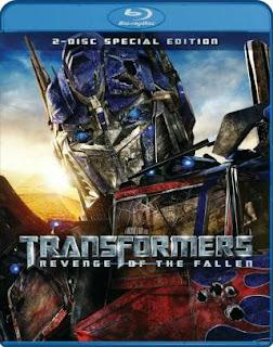 Transformers Revenge Of The Fallen (2009) BluRay 480p 450MB Dual Audio ( Hindi - English ) MKV