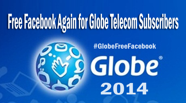 Free Facebook Again for Globe Telecom Subscribers