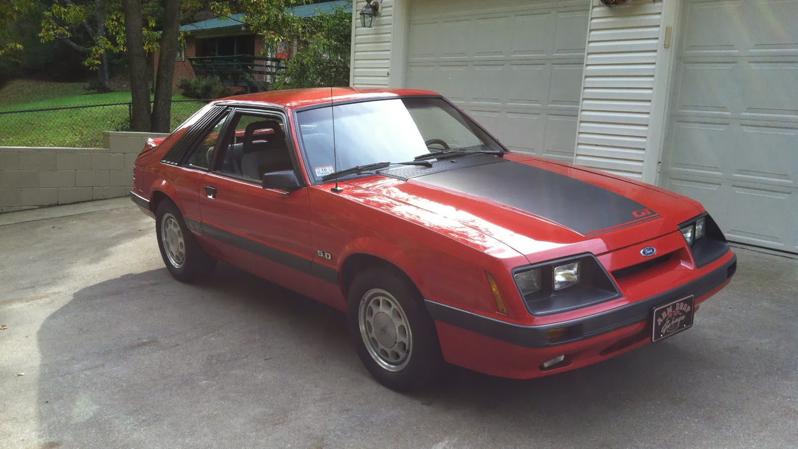 daily turismo 10k low mile 5 original 1986 ford mustang gt. Black Bedroom Furniture Sets. Home Design Ideas