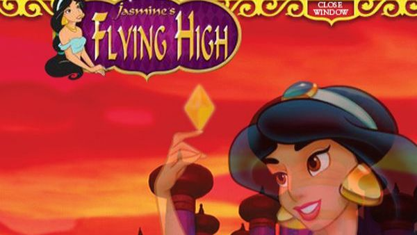 Play Jasmine Flying High game Aladdin games